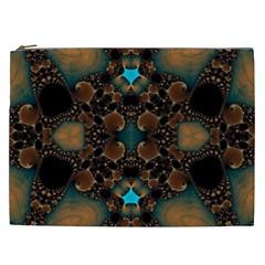 Elegant Caramel  Cosmetic Bag (xxl) by OCDesignss