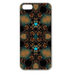 Elegant Caramel  Apple Seamless Iphone 5 Case (clear) by OCDesignss