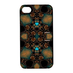 Elegant Caramel  Apple Iphone 4/4s Hardshell Case With Stand by OCDesignss