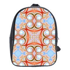 Fractal Abstract  School Bag (large) by OCDesignss