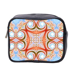 Fractal Abstract  Mini Travel Toiletry Bag (two Sides) by OCDesignss