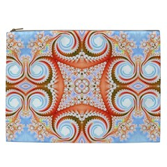 Fractal Abstract  Cosmetic Bag (xxl) by OCDesignss