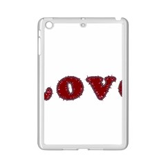 Love Typography Text Word Apple Ipad Mini 2 Case (white) by dflcprints