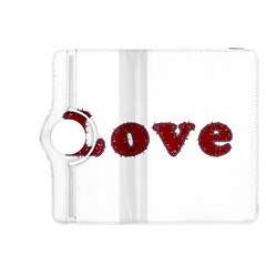 Love Typography Text Word Kindle Fire HDX 8.9  Flip 360 Case by dflcprints