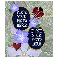 Ladybug Drawstring Pouch Small By Chere s Creations Back