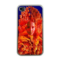 Organic Meditation Apple Iphone 4 Case (clear) by icarusismartdesigns