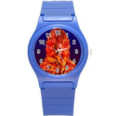Organic Meditation Plastic Sport Watch (small) by icarusismartdesigns