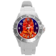 Organic Meditation Plastic Sport Watch (large) by icarusismartdesigns