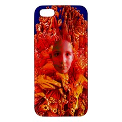 Organic Meditation Iphone 5s Premium Hardshell Case by icarusismartdesigns