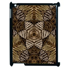Golden Animal Print  Apple Ipad 2 Case (black) by OCDesignss