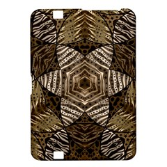 Golden Animal Print  Kindle Fire Hd 8 9  Hardshell Case