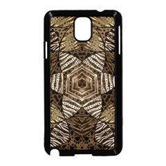 Golden Animal Print  Samsung Galaxy Note 3 Neo Hardshell Case (black) by OCDesignss