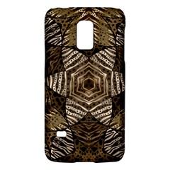 Golden Animal Print  Samsung Galaxy S5 Mini Hardshell Case  by OCDesignss