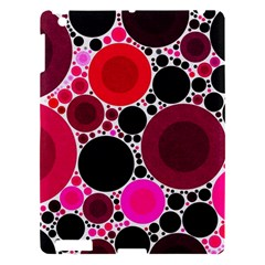 Retro Polka Dot  Apple Ipad 3/4 Hardshell Case by OCDesignss