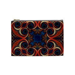 Beautiful Fractal Kelidescopee  Cosmetic Bag (medium) by OCDesignss