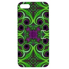Purple Meets Green Apple Iphone 5 Hardshell Case With Stand by OCDesignss