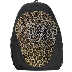 Chocolate Leopard  Backpack Bag by OCDesignss