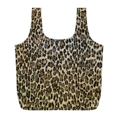 Chocolate Leopard  Reusable Bag (l) by OCDesignss