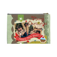 Xmas By Xmas   Cosmetic Bag (large)   Grkhm8ne9qi7   Www Artscow Com Back