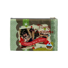 Xmas By Xmas   Cosmetic Bag (medium)   8qcxtrh7yldj   Www Artscow Com Back
