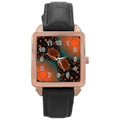 Elegant Delight Rose Gold Leather Watch  by OCDesignss