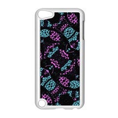 Ornate Dark Pattern  Apple Ipod Touch 5 Case (white) by dflcprints