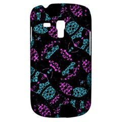 Ornate Dark Pattern  Samsung Galaxy S3 Mini I8190 Hardshell Case by dflcprints