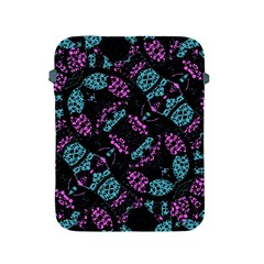 Ornate Dark Pattern  Apple Ipad Protective Sleeve by dflcprints