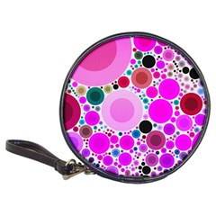 Bubble Gum Polkadot  Cd Wallet by OCDesignss