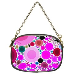Bubble Gum Polkadot  Chain Purse (one Side) by OCDesignss
