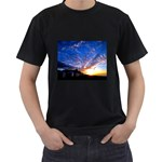 Abstract VI Black T-Shirt