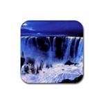 Abstract VIII Rubber Square Coaster (4 pack)