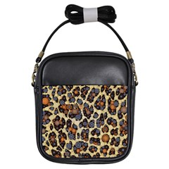 Cheetah Abstract Girl s Sling Bag by OCDesignss