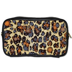 Cheetah Abstract Travel Toiletry Bag (one Side) by OCDesignss