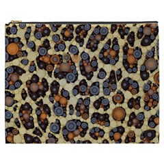 Cheetah Abstract Cosmetic Bag (xxxl) by OCDesignss