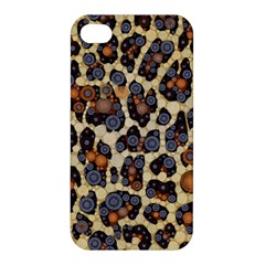 Cheetah Abstract Apple Iphone 4/4s Premium Hardshell Case by OCDesignss