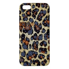 Cheetah Abstract Iphone 5s Premium Hardshell Case by OCDesignss