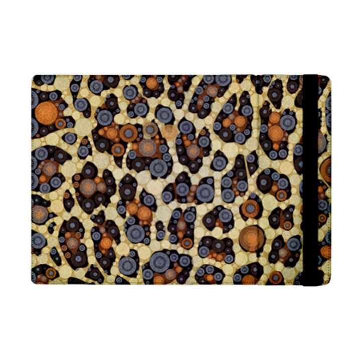 Cheetah Abstract Apple iPad Mini 2 Flip Case
