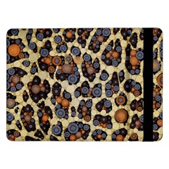 Cheetah Abstract Samsung Galaxy Tab Pro 12 2  Flip Case by OCDesignss