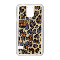 Cheetah Abstract Samsung Galaxy S5 Case (white) by OCDesignss