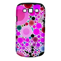 Bubble Gum Polkadot  Samsung Galaxy S Iii Classic Hardshell Case (pc+silicone) by OCDesignss