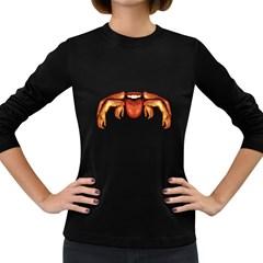 Alien Spider Women s Long Sleeve T Shirt (dark Colored) by dflcprints