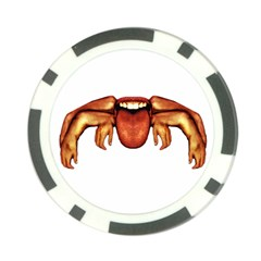 Alien Spider Poker Chip by dflcprints