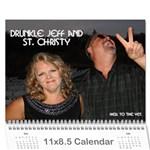 drunkle jeff calender - Wall Calendar 11  x 8.5  (12-Months)