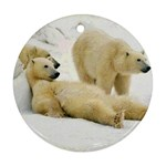 Bear I Ornament (Round)
