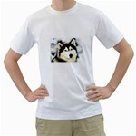 Dog II White T-Shirt