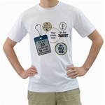 5oth Birthday Mens T-shirt - Men s T-Shirt (White)