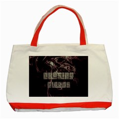 Chasing Clouds Classic Tote Bag (red) by OCDesignss