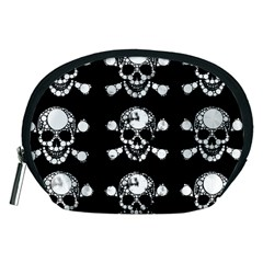 Skull Bling Accessory Pouch (medium) by OCDesignss