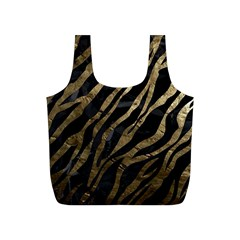 Gold Zebra  Reusable Bag (s) by OCDesignss